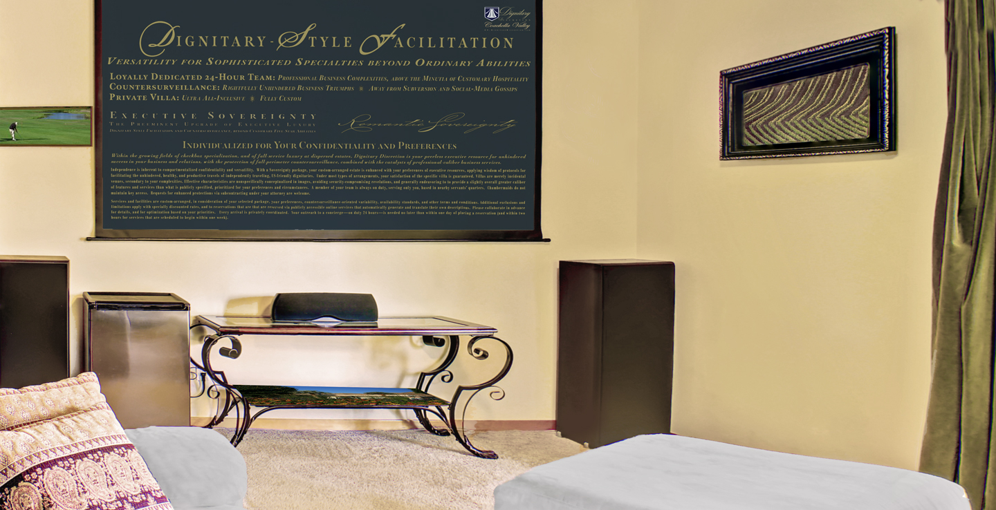 Executive Services by Dignitary Discretion Coachella Valley