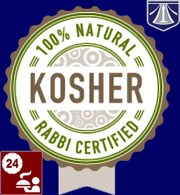 Compimentary Kosher cuisine and beverages