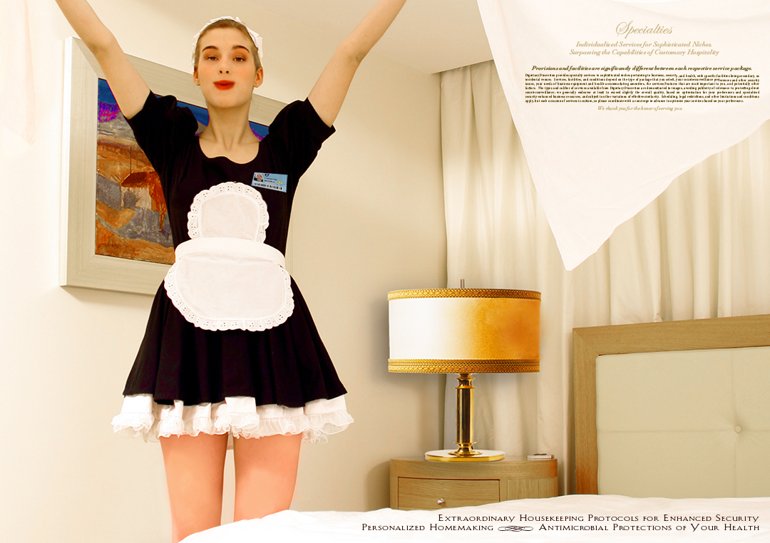 Antibacterial and Hypoallergenic Dedicated French Maid