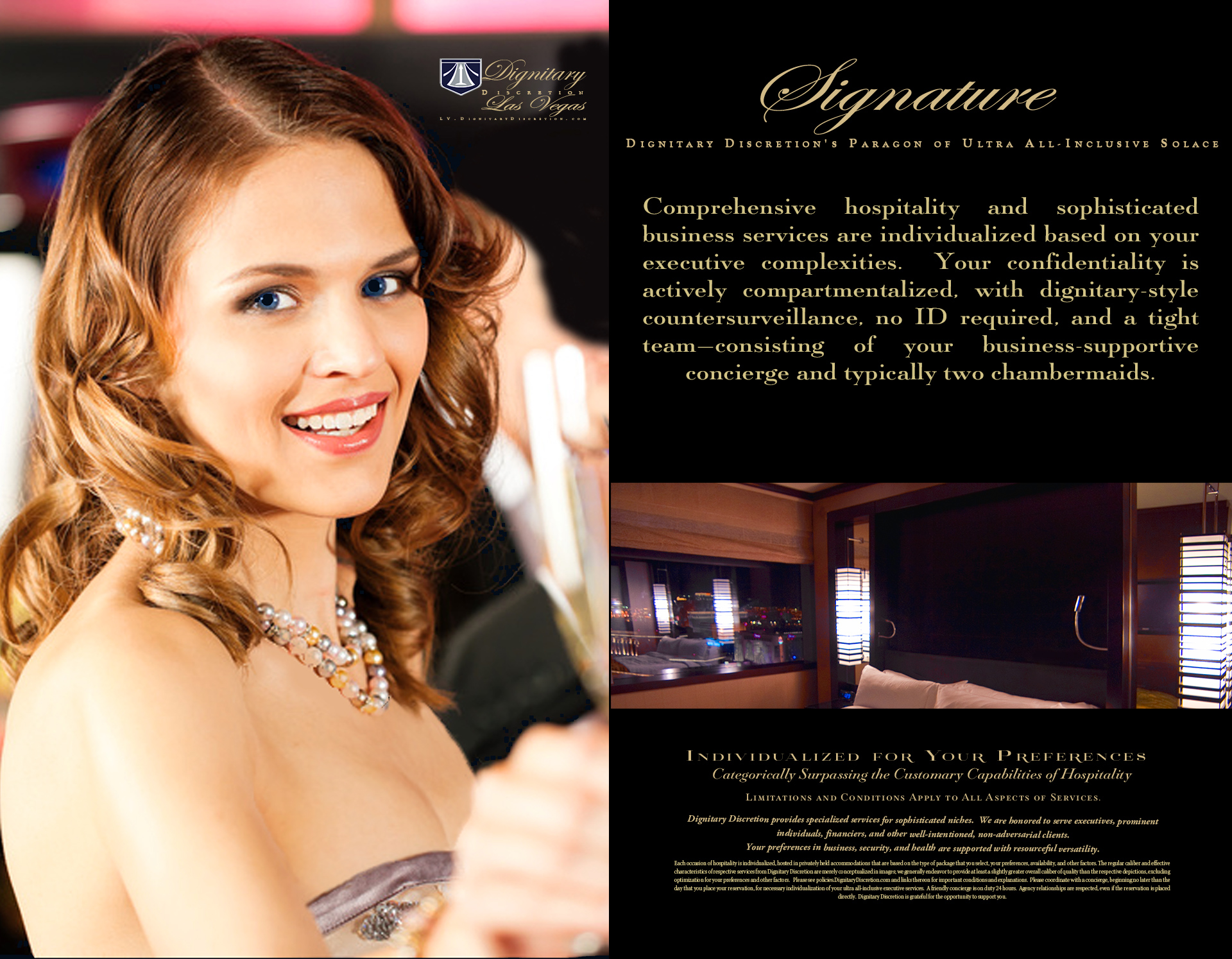 Signature by Dignitary Discretion Las Vegas