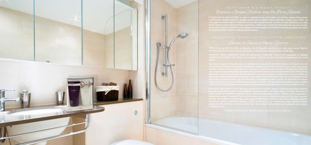 Example of Bathroom of One-Bedroom Executive Luxury